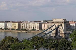 Kettenbrücke Budapest Wahrzeichen Ungarn