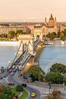 Kettenbrücke in Budapest, Ungarn