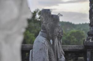 kaiserliches Grab des Kaisers khai dinh hue - vietnam foto