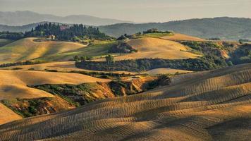 Landschaft, San Quirico, Orcia, Toskana, Italien