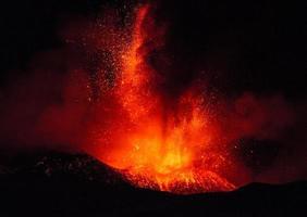 Eruption Ätna