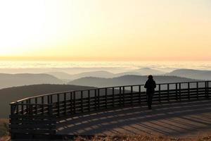 Gipfel des Höckens in Vogesen foto
