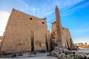 Luxor Tempel foto