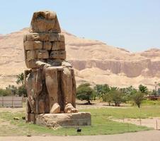 die Kolosse von Memnon.