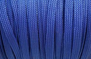 blauer Schuhschnurhintergrund