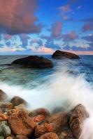 stürmische Wellen