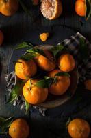 rohe Bio-Satsuma-Orangen foto