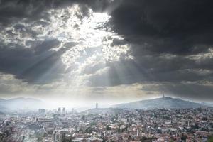 Stadtbild von Sarajevo foto