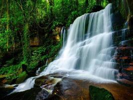 glatter Wasserfallhintergrund