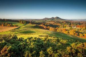 Eildon Hill schottische Grenzen
