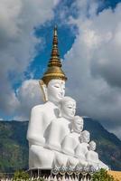 weißer Buddha