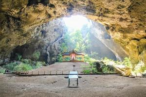 Phraya Nakhon Höhle, Prachuap Khiri Khan Thailand foto