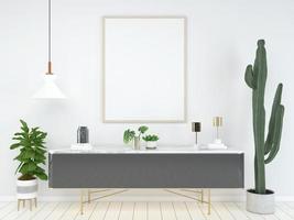 Home Office 3d gerendert Hintergrund