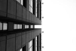 Wurmperspektive des Gebäudes