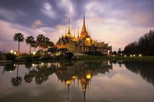 Wat Non Kum Tempel in Bangkok Thailand.
