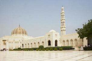 Oman. große Moschee der Sultan Qaboos.