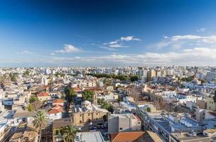 Blick auf die Stadt Nikosia
