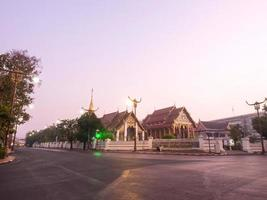 Wat Phra, die Kham im Morgennebel ändern