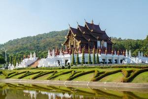 der königliche Pavillon (ho kham luang)