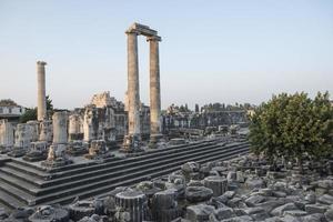 Tempel des Apollo foto
