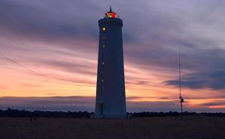 Reykjavik Leuchtturm foto