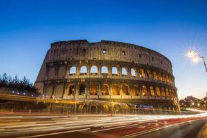 großes Kolosseum, Rom, Italien