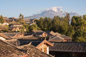 Lijiang Altstadt am Morgen