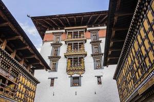 der dzong von paro foto