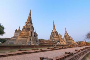 Wat Phra Sri Sanphet, Welterbe, Ayutthaya, Thailand