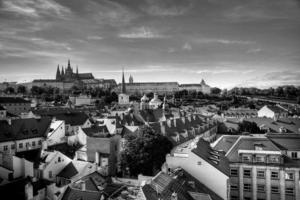 Sommerpanorama von Prag, Tschechische Republik