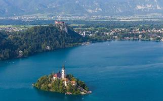 Blutsee, Slowenien, Europa foto