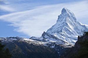 Matterhorn in Zermatt foto
