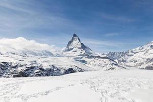 Matterhorn, Zermatt, Schweiz. foto
