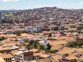 Skyline von Sucre, Bolivien