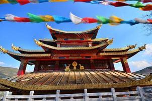 tibetischer Tempel foto
