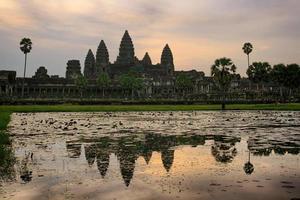 Angkor Wat Cambodia Sonnenaufgang