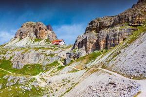 Refugio Lacatelli, bunter Sommermorgen