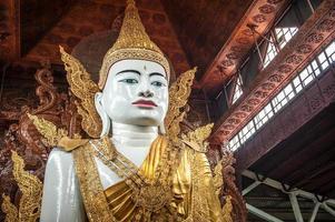 Buddha-Skulptur foto