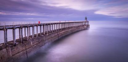 ruhiger Pier