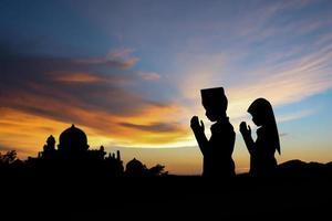 muslimischer Junge foto