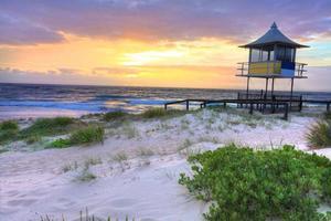 Sonnenaufgang am Eingang, Australien