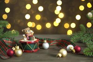 Weihnachtsdekor Stillleben foto