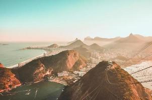 Luftaufnahme von Rio
