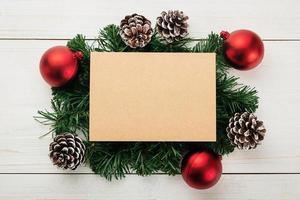 Weihnachtskartenmodell