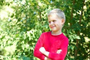Glücklicher Junge foto