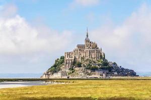 Mount St. Michel in der Normandie foto