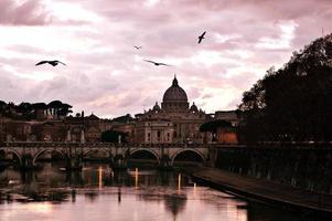 Sonnenuntergang in st. Peter.