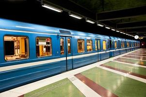 Zug in Stockholm