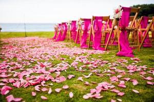 Bestimmungsort Hochzeitszeremonie
