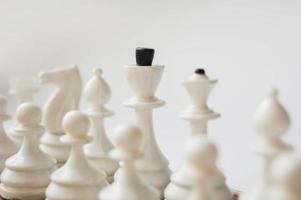 weißes Schach